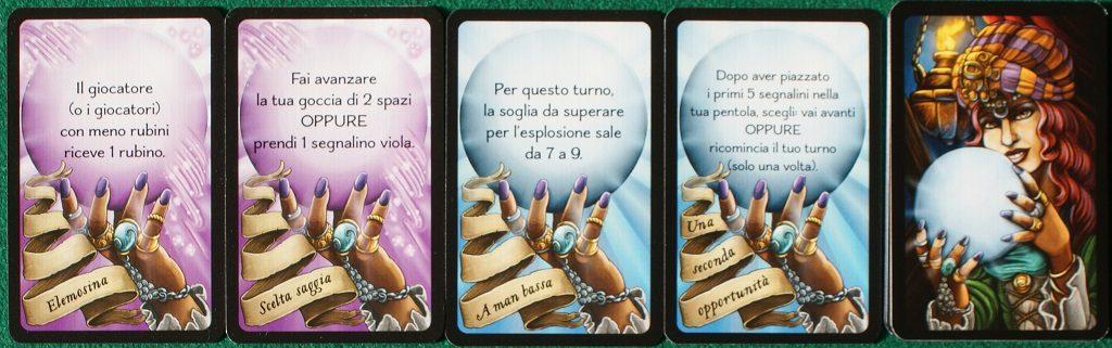 "Le carte ""Veggente"""