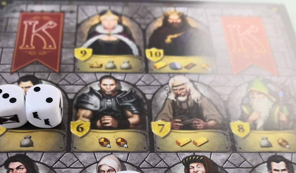 Kingsburg – The dice game