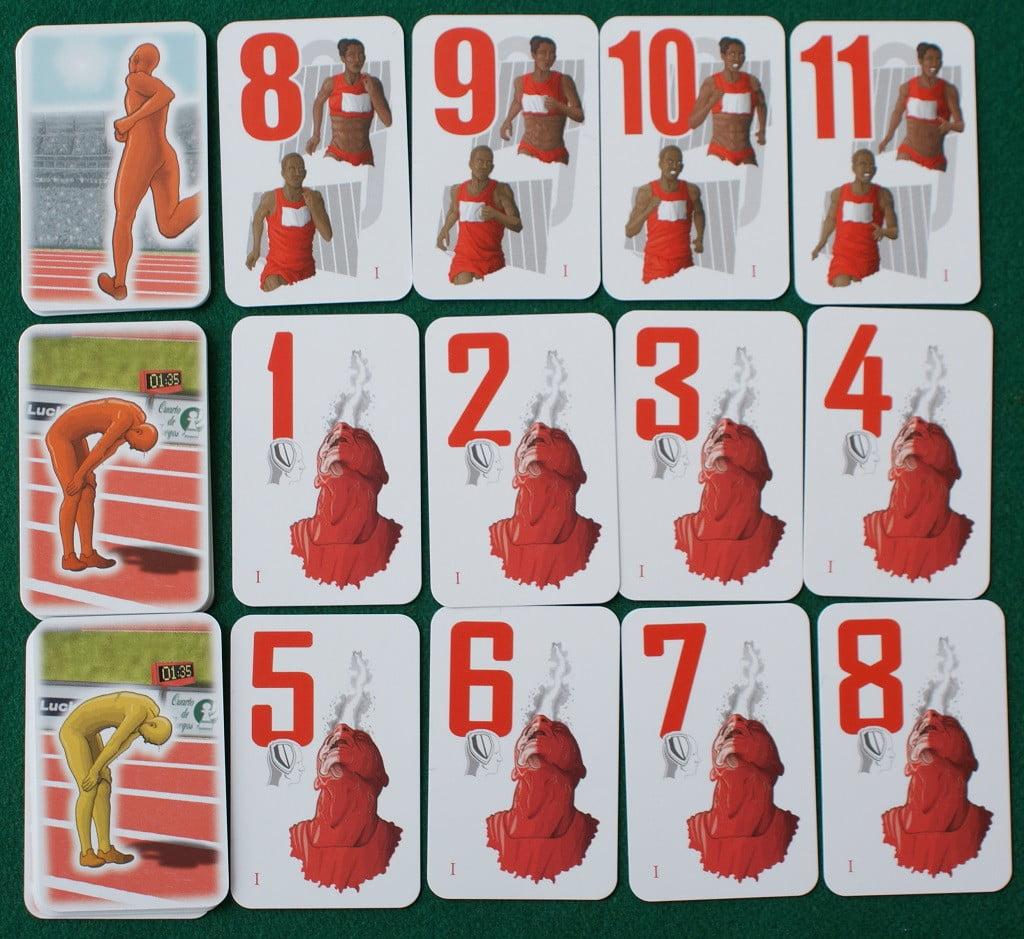 Le carte di un atleta