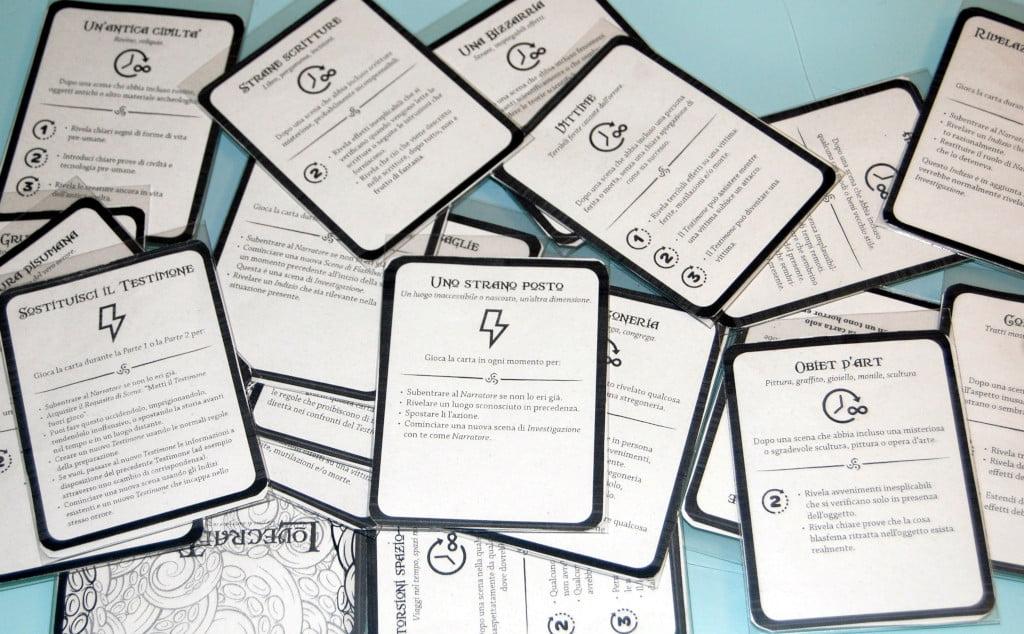 il mazzo delle carte traccia