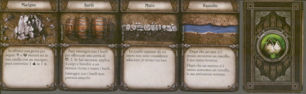 Alcune carte terreno