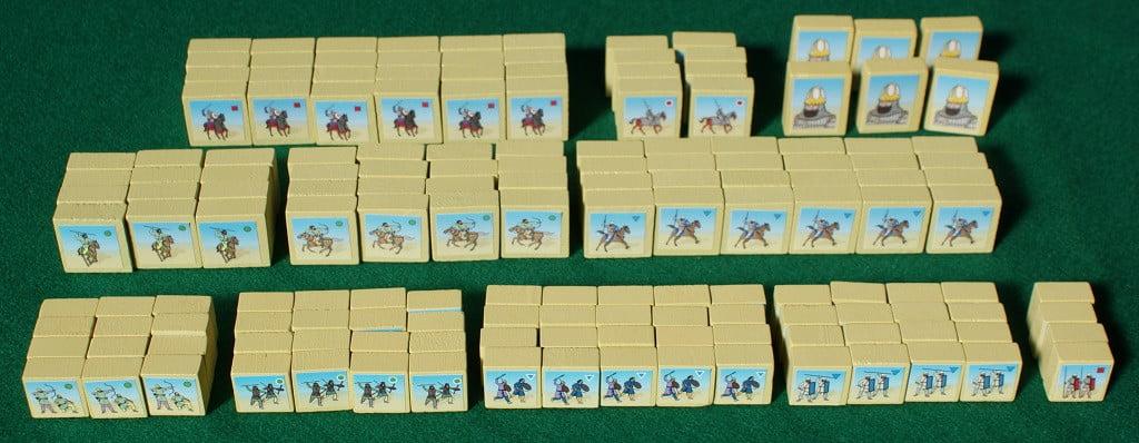 L'esercito Sassanide al completo