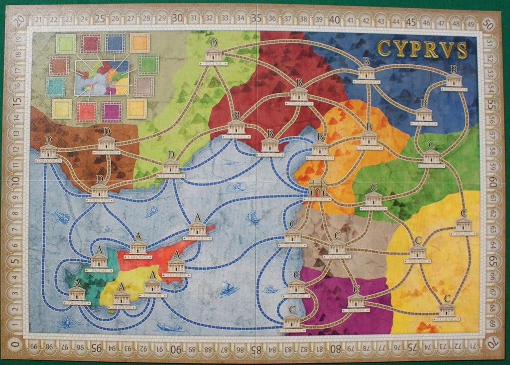 """La mappa """"Italia"""""""