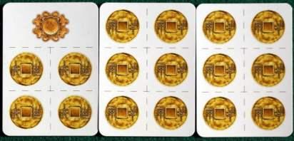 monete ed il segnalino Primo Giocatore