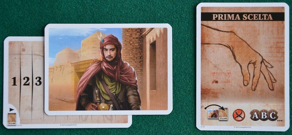 """La carta """"primo giocatore"""