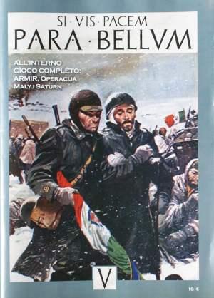 La copertina della rivista Para Bellum 5