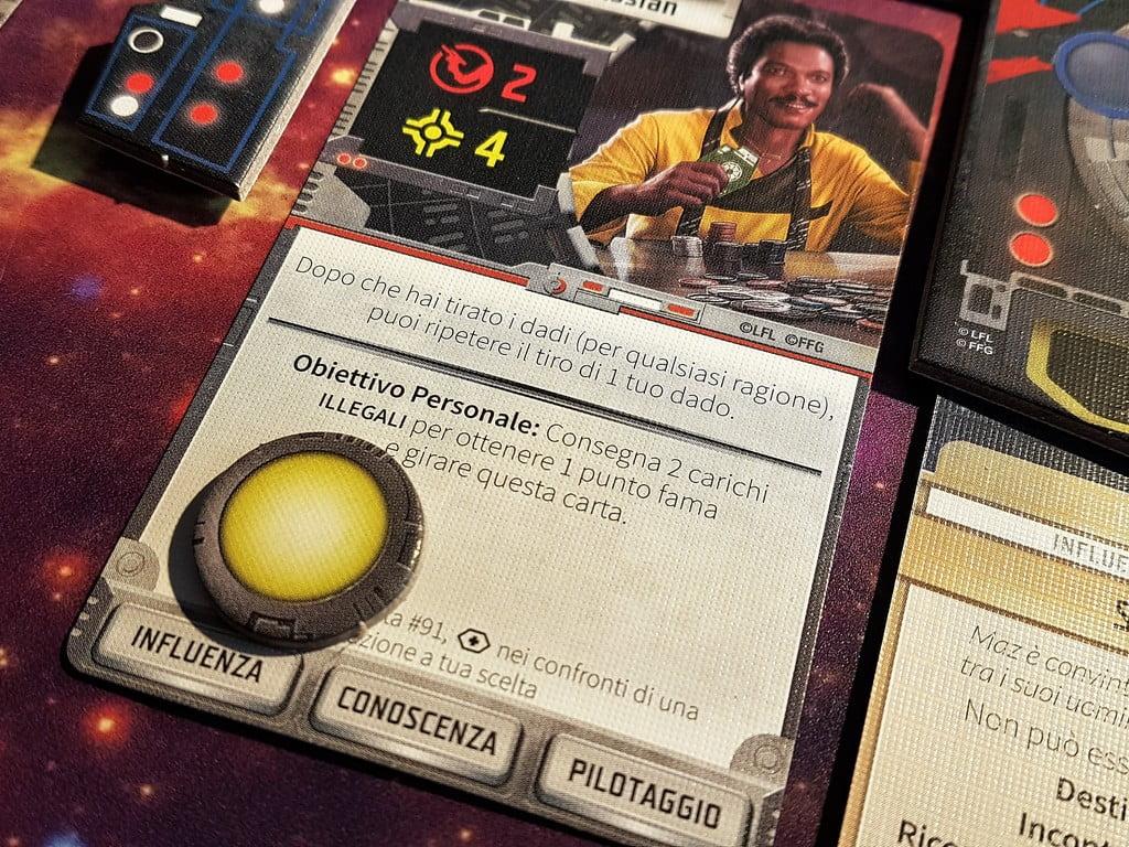 Lando Calrissian - Star Wars Orlo Esterno