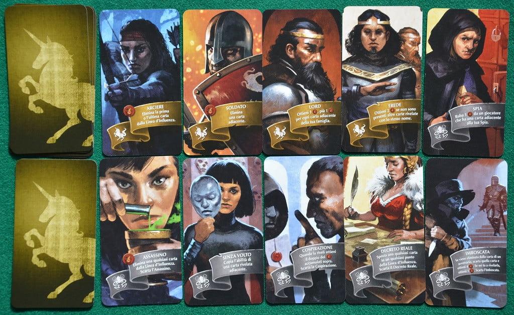 Le carte Personaggio