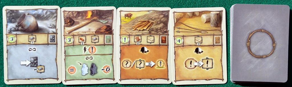 Esempio di carte Artefatto dell'Era I
