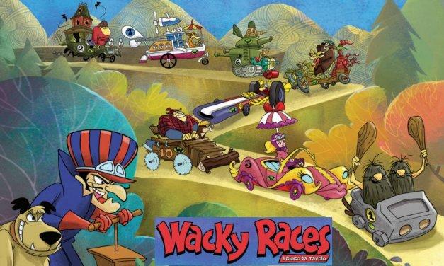 Wacky Races il Gioco da Tavolo