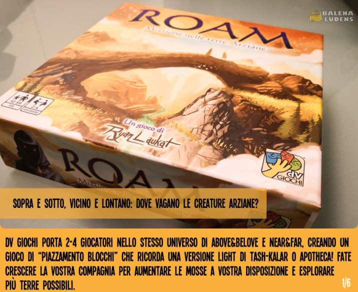 ROAM - DV giochi - balenaludens