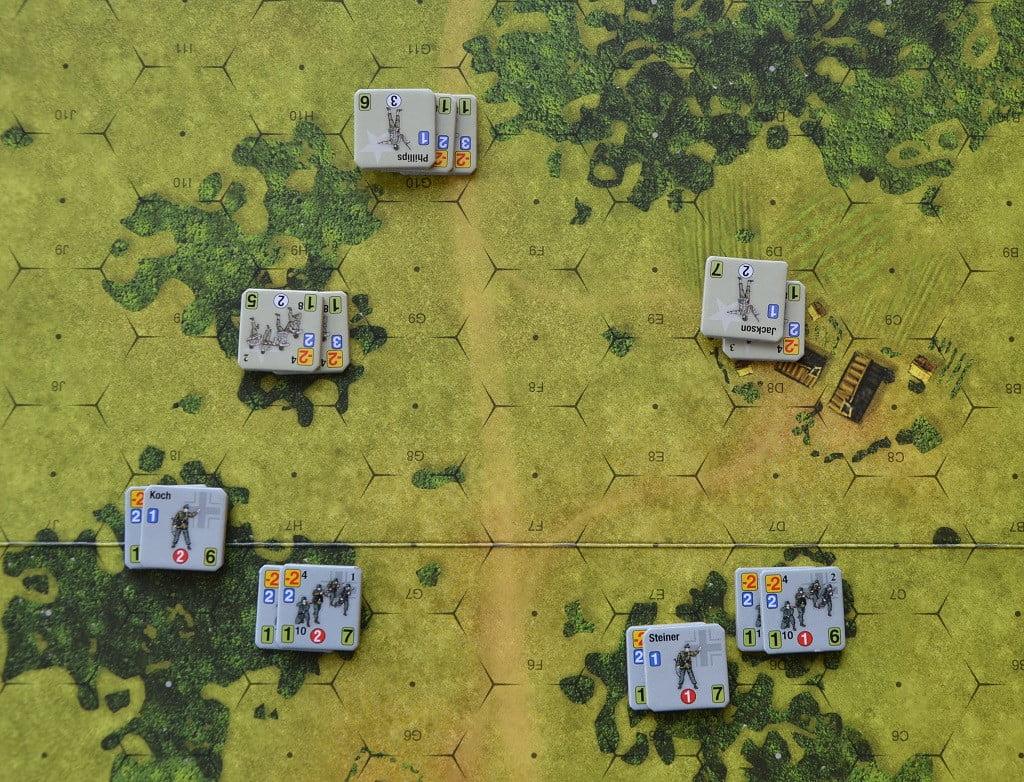 Esempio di tiri di fanteria