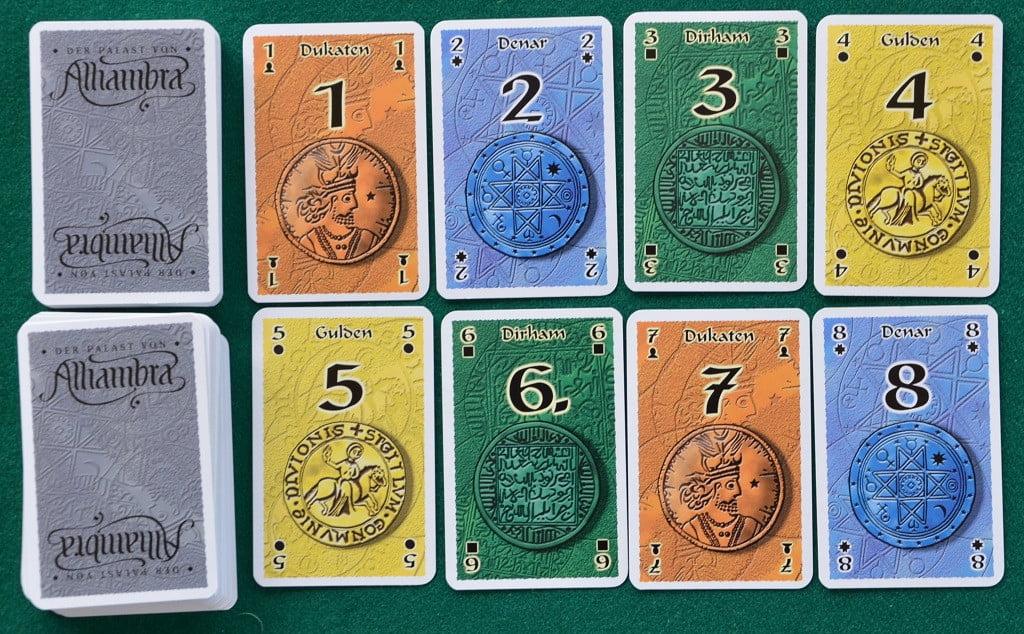"Un esempio di carte ""denaro"""