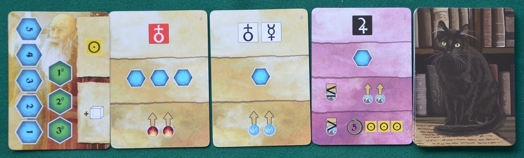 Le carte per il gioco in solitario