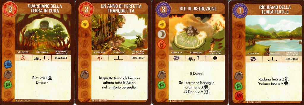 Le carte Potere innato 2