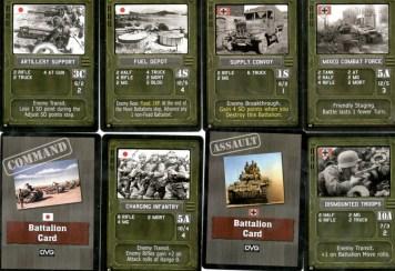 Sherman Leader : diversi tipi di carte Battaglione