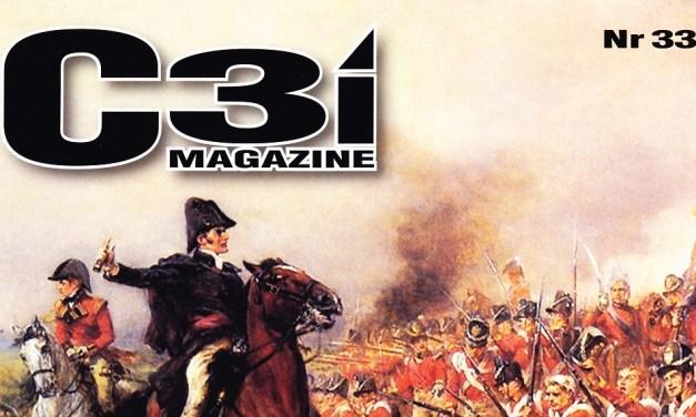 Riviste Wargames: C3i n° 33