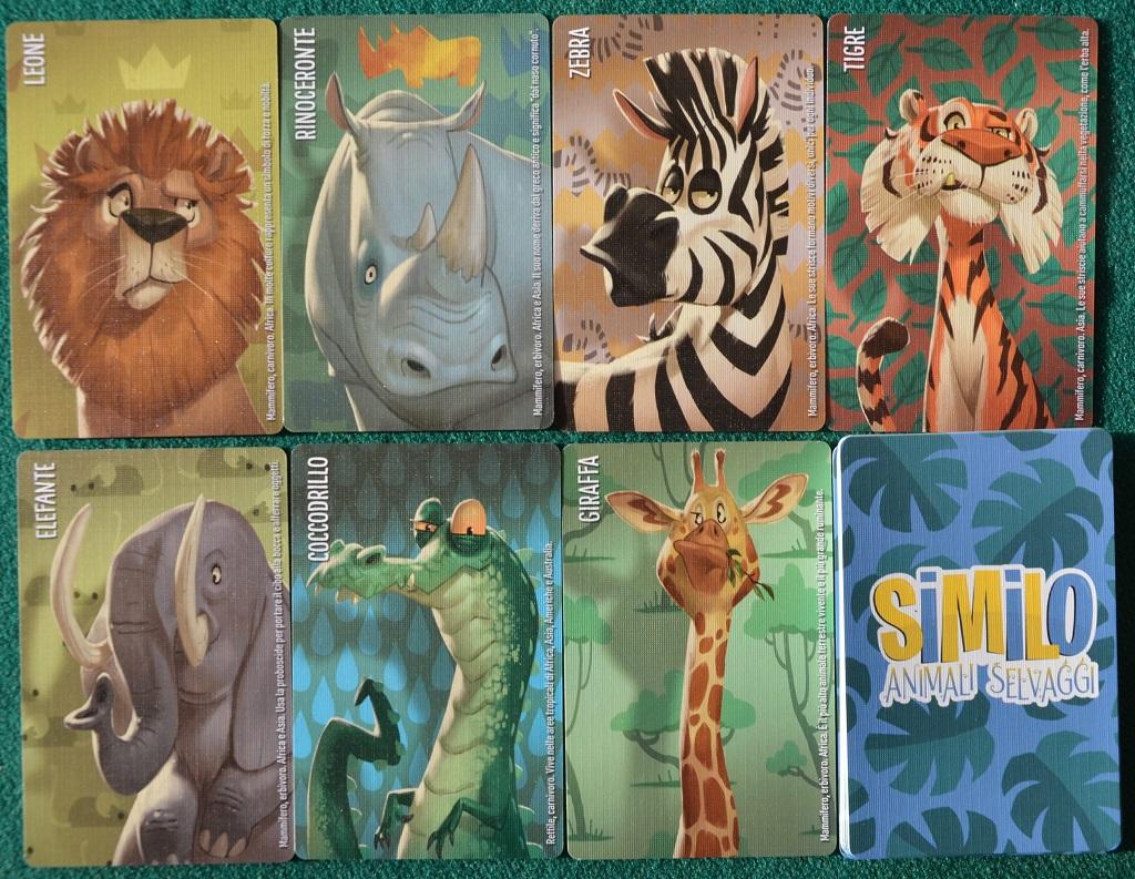 Un esempio di carte.