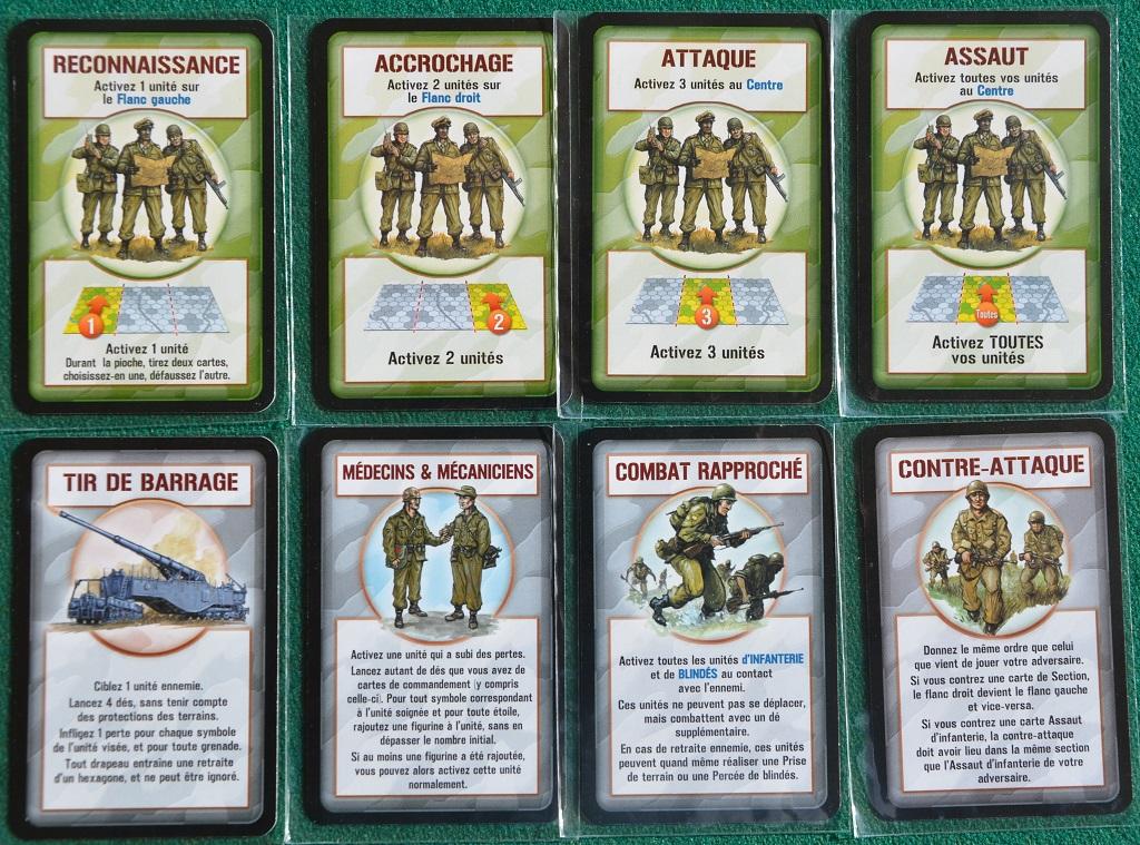 Le carte Comando.