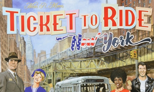 Ticket to Ride Amsterdam e Ticket to Ride New York
