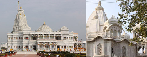 Vrindavan's Temples – old ones for Prayers, new ones for Tourism – 4 Jul 12