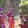 Holi - Colour-Battle with the Children - 7 Mar 09
