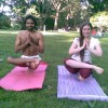 Free Yoga with Yashendu in Central Park, New York - 15 June 10