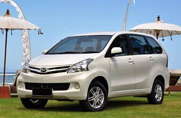 Bali Car Carter With Driver - Avanza or Xenia