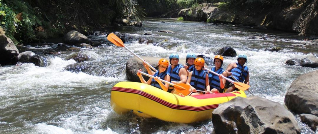 Bali White Water Rafting Tours - Header Image 180117