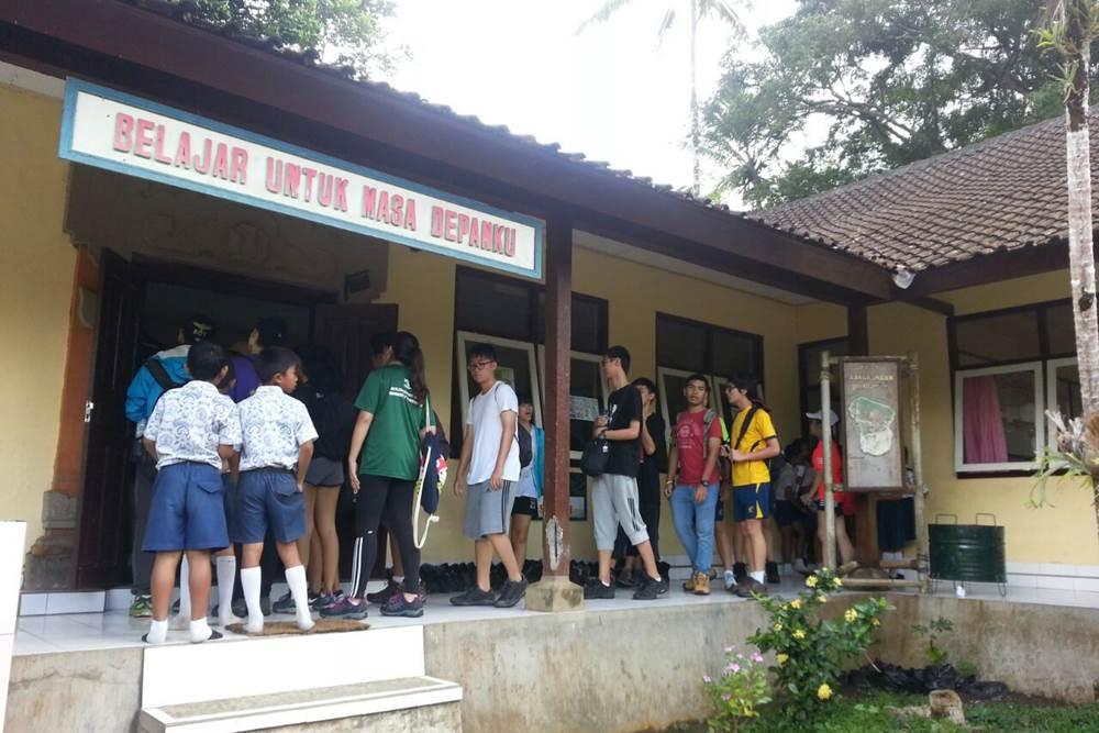 Bali Students Team Building Activities Penglipuran Camp - Gallery 05290117