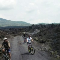 Bali Black Lava Cycling Tour