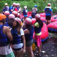 Bali White Water Rafting Tours Telaga Waja River