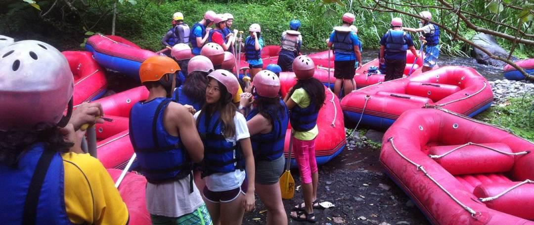 Bali White Water Rafting Tours Telaga Waja River - Header Image 01010217