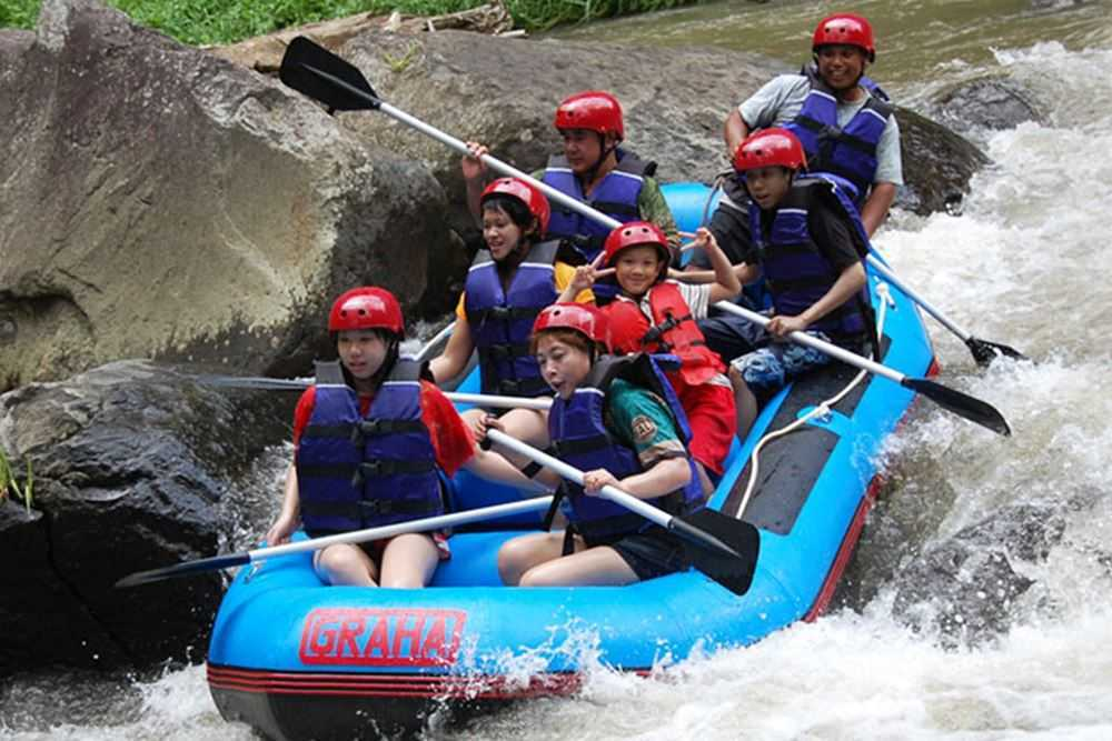 Bali White Water Rafting Tours Ayung River - Gallery 09010217
