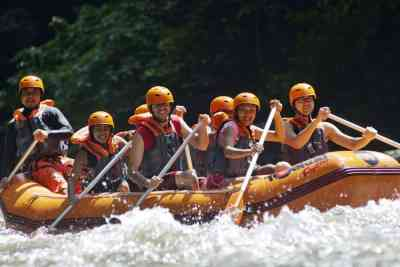 Bali White Water Rafting Tours Ayung River - Gallery 090102174