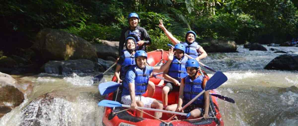 Ayung White Water Rafting Bali and ATV Ride Tour