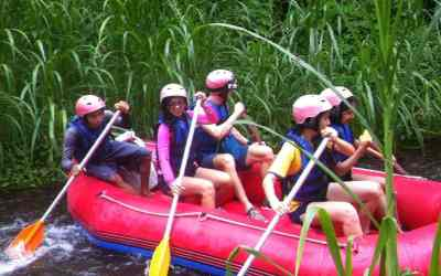 Telaga Waja River Rafting is a Spectacular Activity