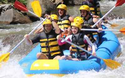 White Water Rafting Ubud Ayung River