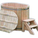 Drewniana balia Ofuro dla 2 osób - TimberIN