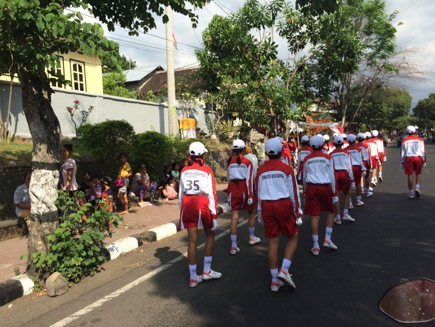 Festa dell'indipendenza a Bali