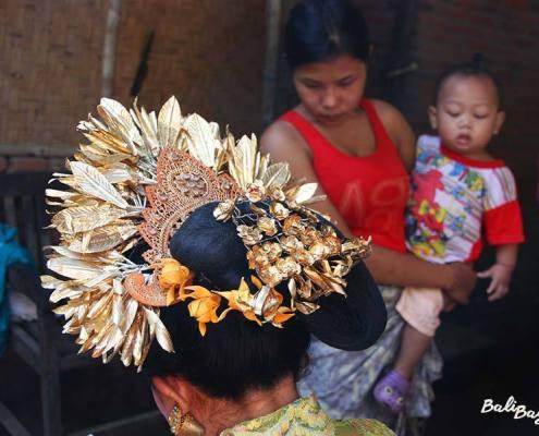 Acconciatura matrimonio Bali