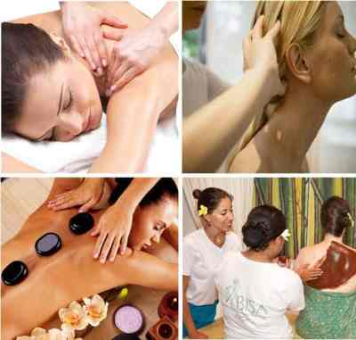 At leading spa school in Bali learn popular massage modalities - Balinese, Javanese, Swedish and Warm Stone - along with traditional body scrubs and wraps.