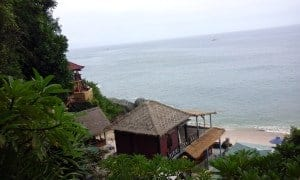 Uluwatu Beach from the top
