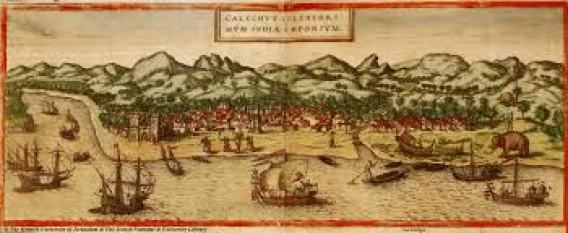 The spice trade in Indonesia in the early 1500's