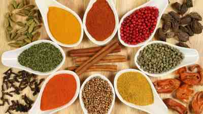 Spices are used more and more in spa treatements