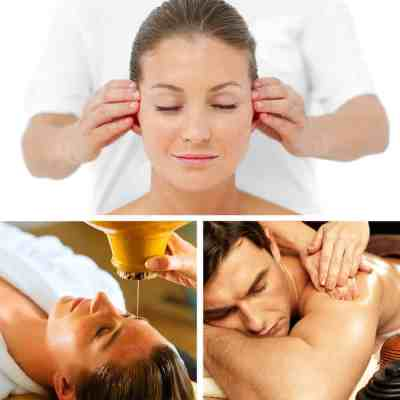Ayurveda package - Ayurvedic body Massage, Indian Head Massage and Shirodara