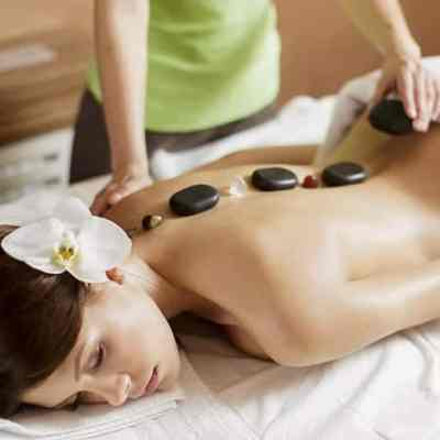 ITEC Stone Therapy Massage certificate uses hot and cold stones