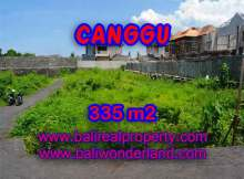 Land in Bali for sale, extraordinary view in Canggu Pererenan – TJCG142