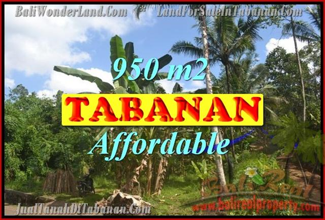 Land for sale in Bali, exceptional view in Tabanan Kota ( City ) – TJTB146