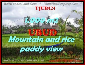 Exotic PROPERTY 1,000 m2 LAND IN UBUD BALI FOR SALE TJUB424